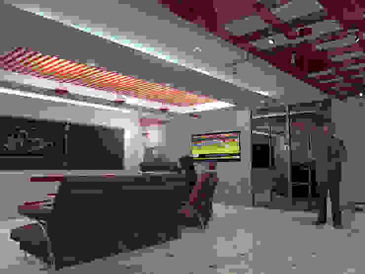 Interior 3 Locaciones para eventos de estilo minimalista de HC Arquitecto Minimalista