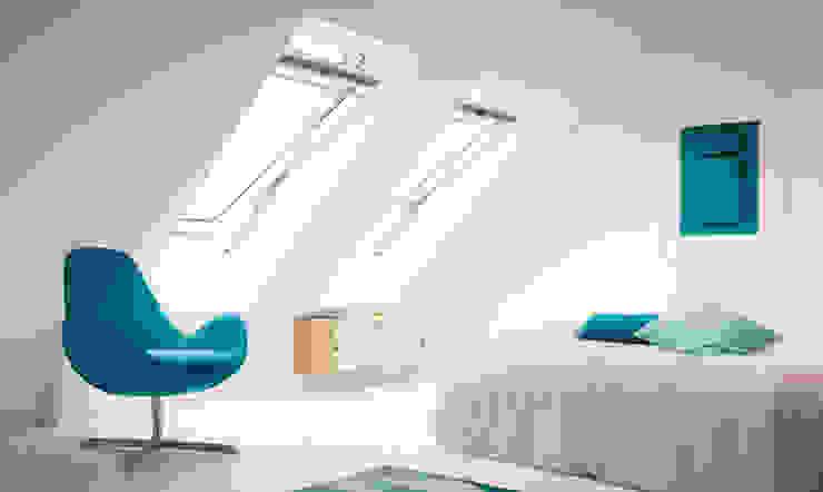 Sottotetto Tucommit Camera da letto moderna