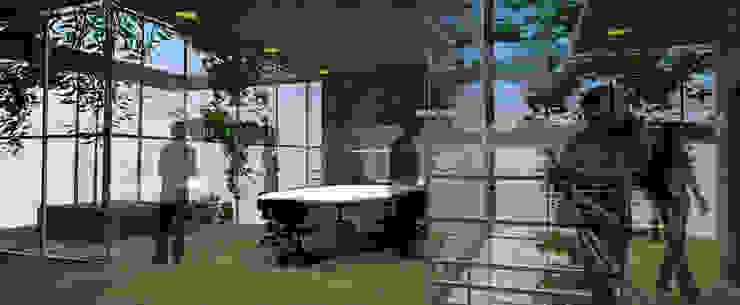 triAda Estudios y bibliotecas de estilo minimalista