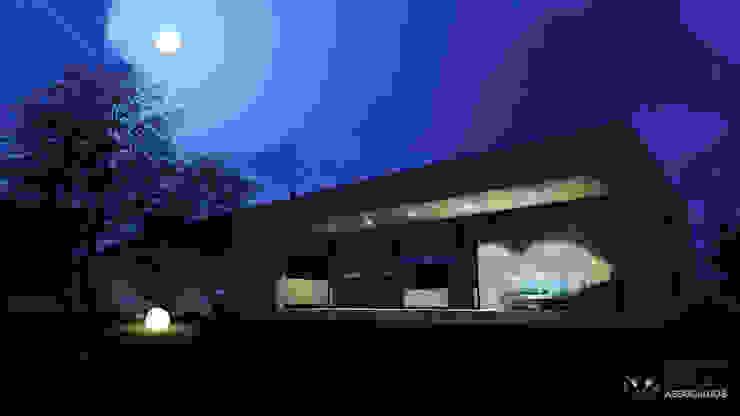 Arquiteto João Contente - Casa RD Noite por Arquiteto João Contente Associados