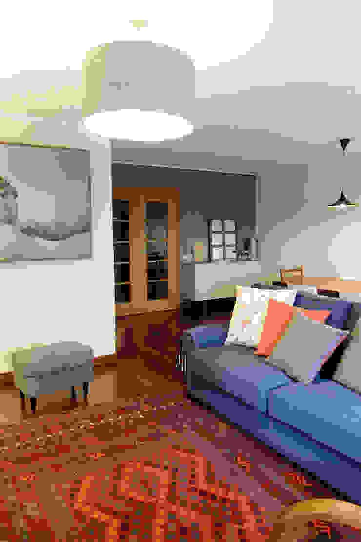 Sala Comum - zona de estar Salas de estar modernas por maria inês home style Moderno