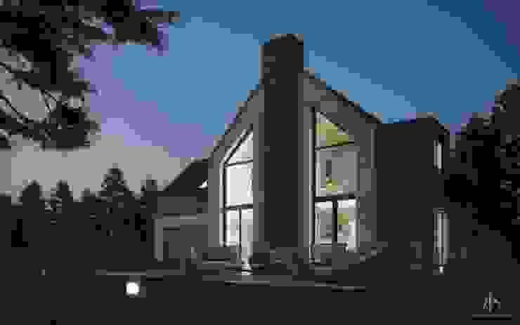 Modern Houses by Kamińska Stańczak Modern