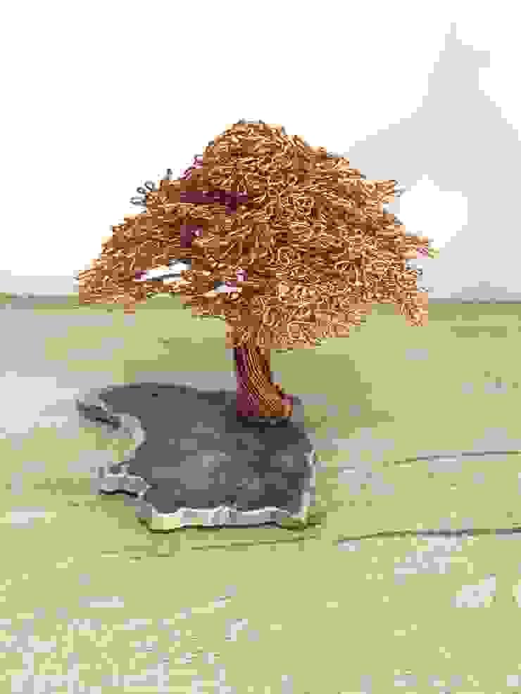 SEBU – Ağaç Fosilli SEBU: minimalist tarz , Minimalist Bakır/Bronz/Pirinç