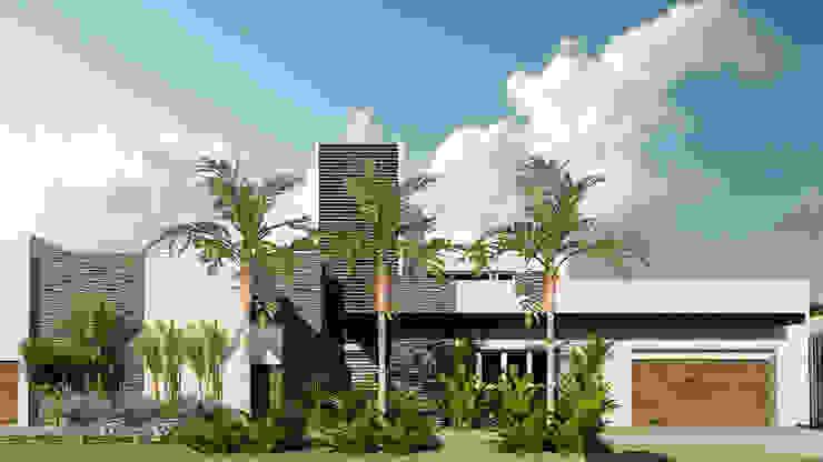 Casas modernas: Ideas, diseños y decoración de NOGARQ C.A. Moderno