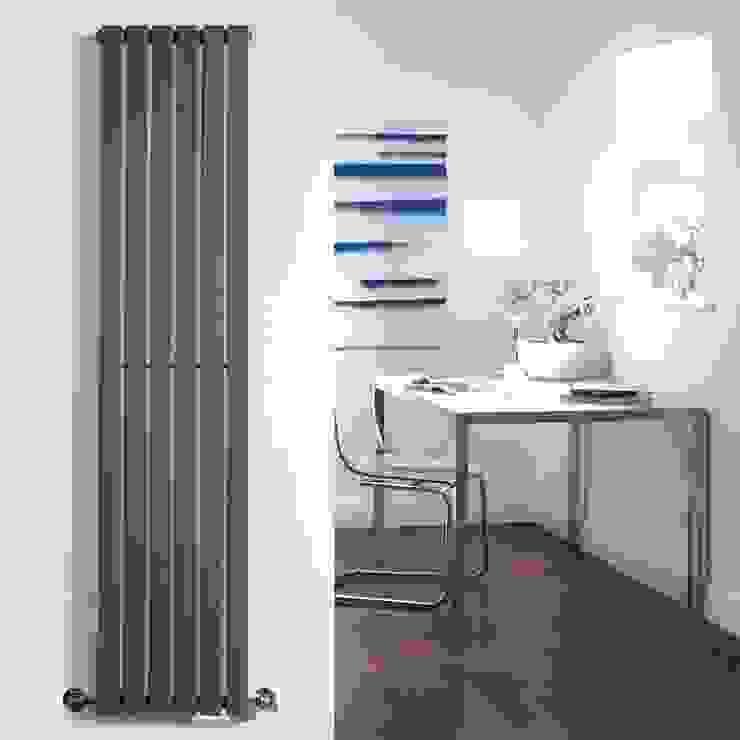 Milano Capri Design Heizkörper in Anthrazit 996 Watt BestHeating Deutschland Moderner Flur, Diele & Treppenhaus