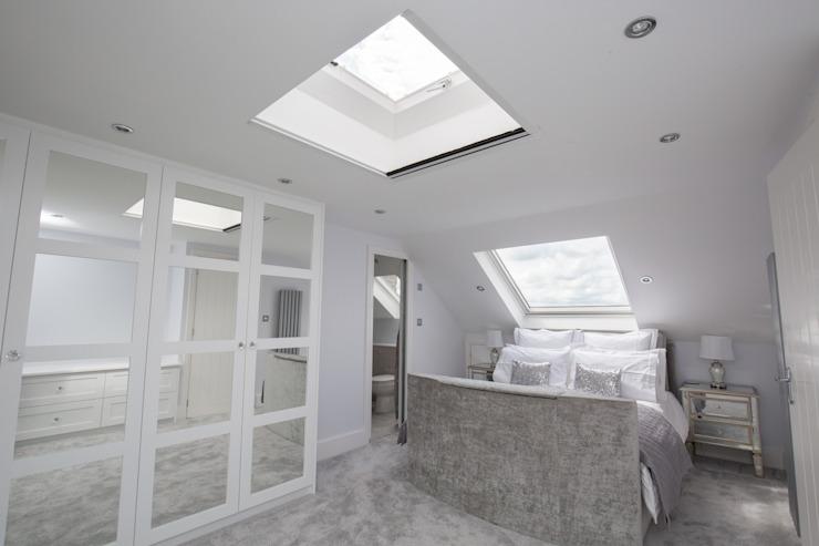 A loft conversion to give that all important extra space من The Market Design & Build حداثي