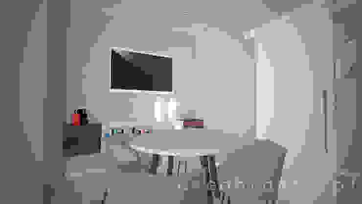Sala de Reuniões Clínicas modernas por Areabranca Moderno