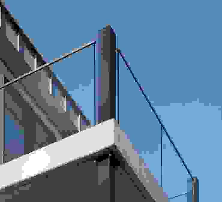 groovEe™ by EeStairs Moderne kantoorgebouwen van EeStairs | Stairs and balustrades Modern Glas