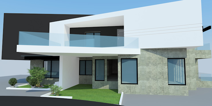 Projects—Residential Minimalist houses by Jehovah Nissi Archfirm Minimalist