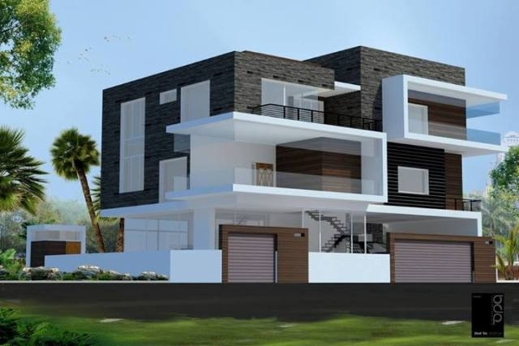 Projects—Residential Modern houses by Jehovah Nissi Archfirm Modern