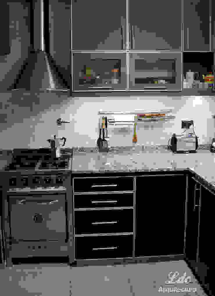 LDC Arquitectura Modern kitchen Metal Metallic/Silver