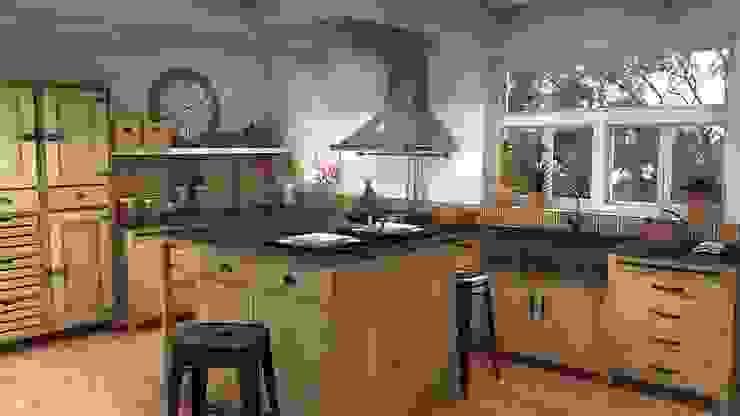 Pagnol kitchen Blophome Cocinas de estilo rústico