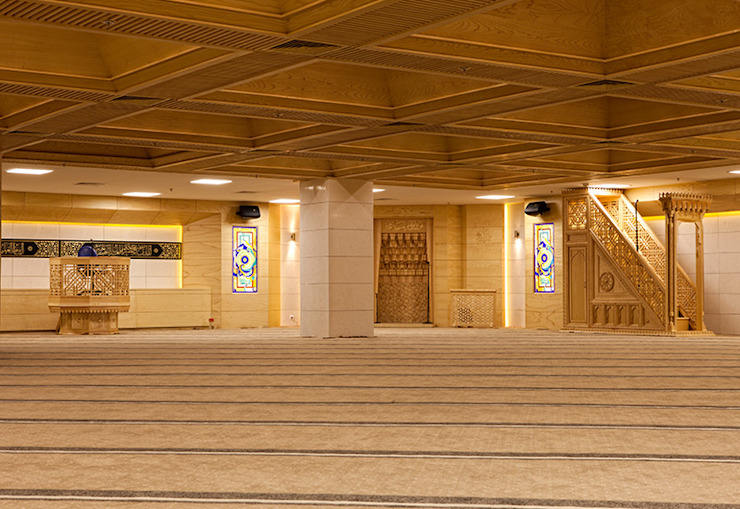 Ankara Büyükşehir Belediyesi Cami ArcorA Custom Made Furniture Rustik
