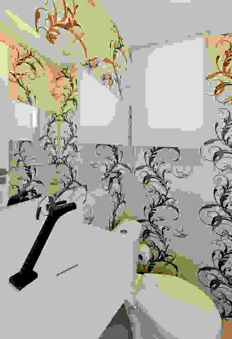 Modern style bathrooms by Tatiana Junkes Arquitetura e Luminotécnica Modern