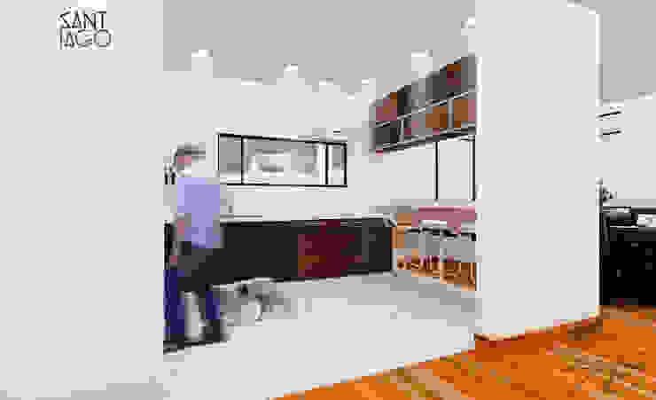 cocina Cocinas minimalistas de SANT1AGO arquitectura y diseño Minimalista