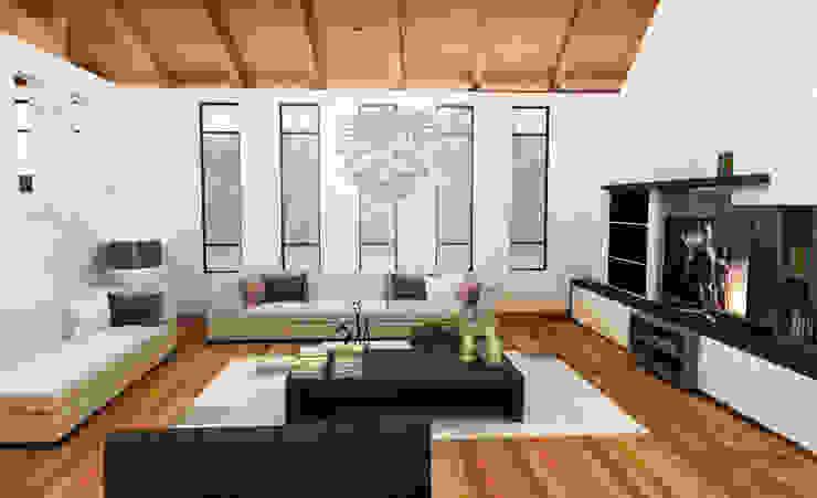 sala Salones minimalistas de SANT1AGO arquitectura y diseño Minimalista