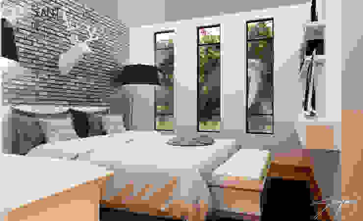 recamara principal Dormitorios modernos de SANT1AGO arquitectura y diseño Moderno