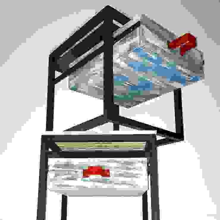 Mesas de noche:  de estilo industrial por Take It, Industrial Hierro/Acero