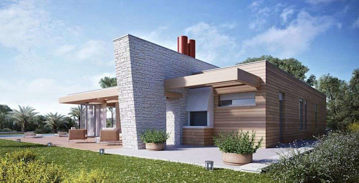 Modern houses by Tucommit Modern