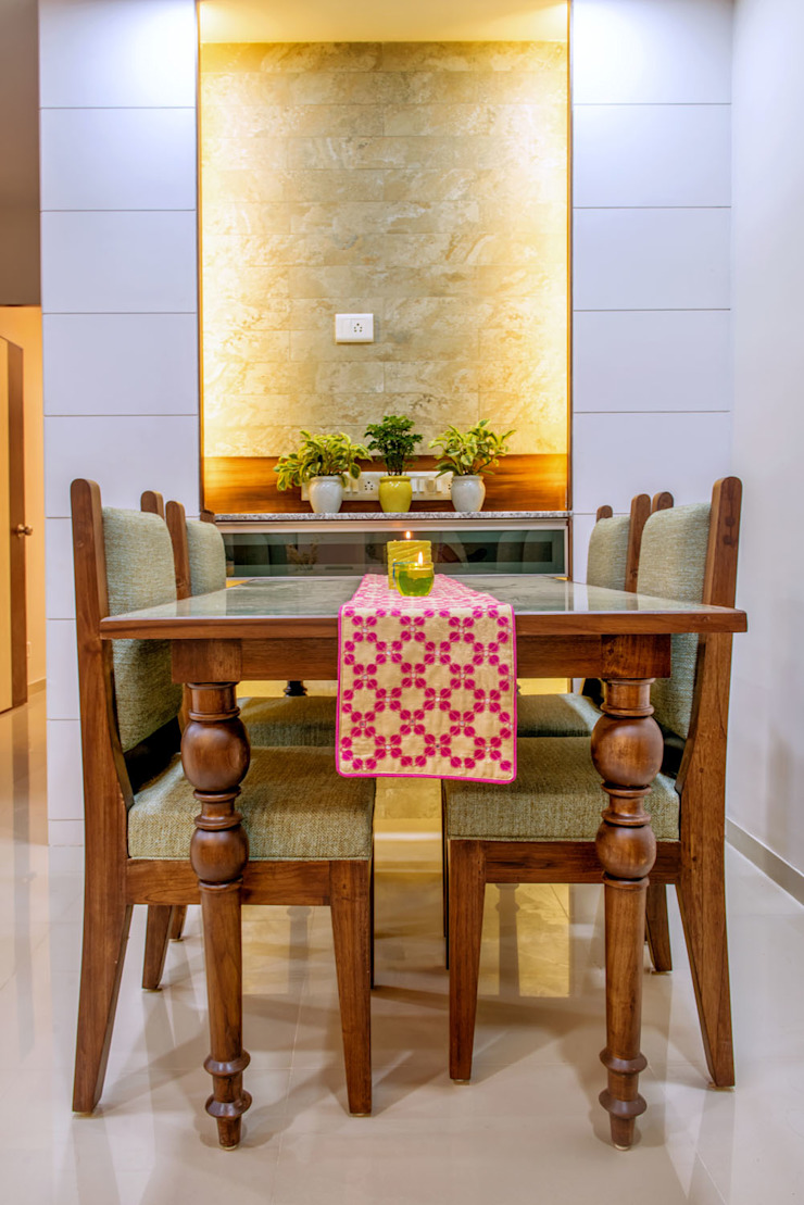 Dinning Eclectic style dining room by Saar Interior Design Eclectic