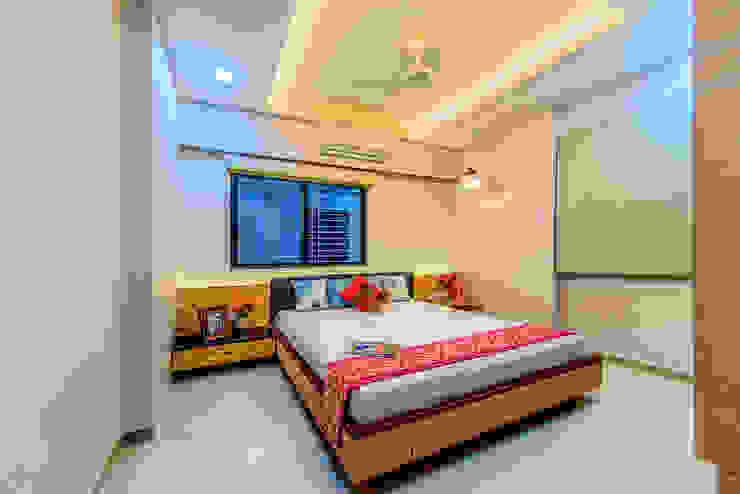 臥室 by Saar Interior Design, 隨意取材風