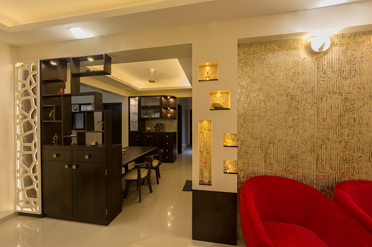 Display Panelling by Navmiti Designs Modern