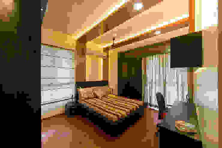 Navmiti Designs Camera da letto moderna