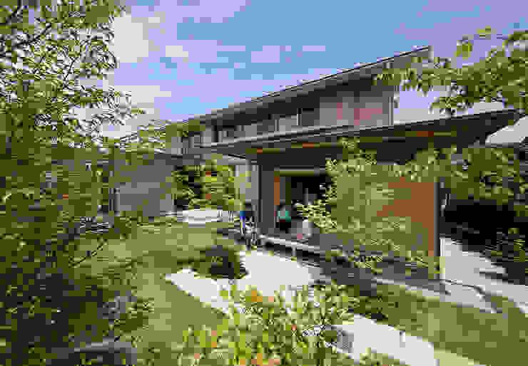茶室のある家 日本家屋・アジアの家 の AMI ENVIRONMENT DESIGN/アミ環境デザイン 和風