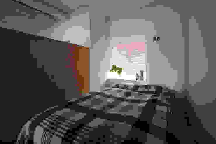 MORTAR POT nuリノベーション Minimalist bedroom