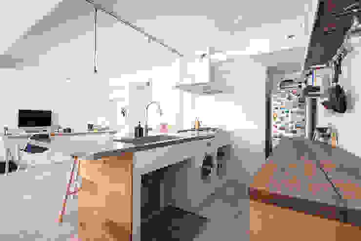 otokonoshiro Cocinas de estilo minimalista de nuリノベーション Minimalista