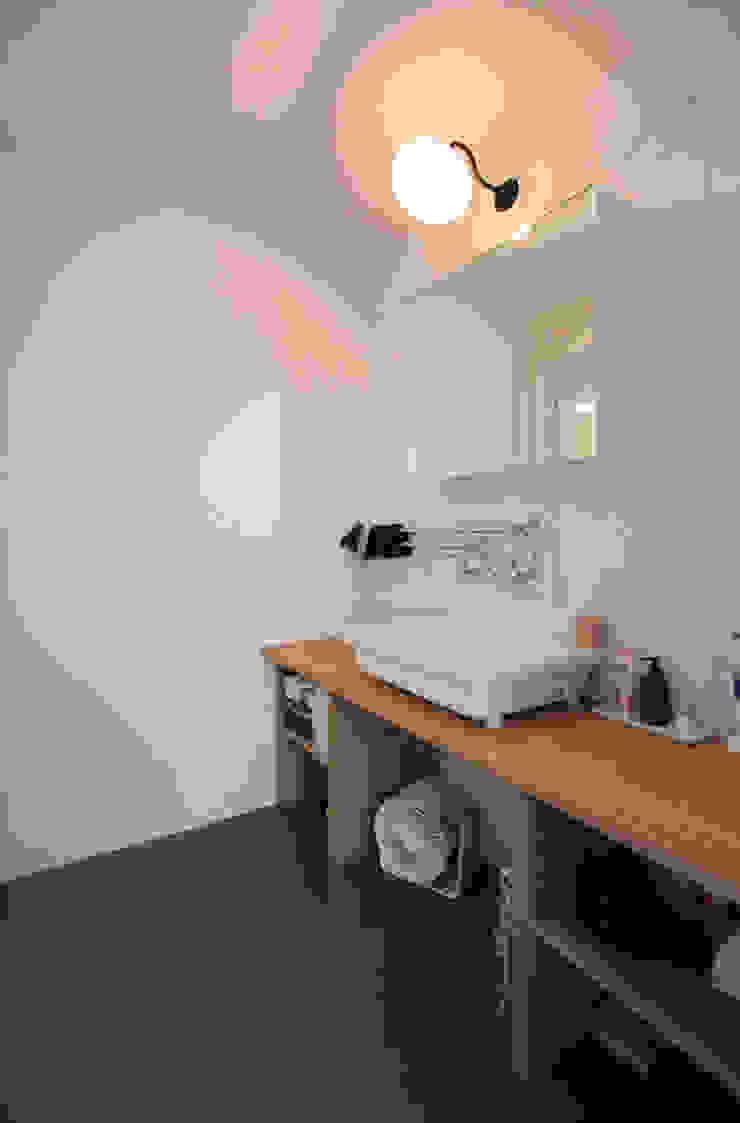 otokonoshiro nuリノベーション Ванная комната в стиле минимализм