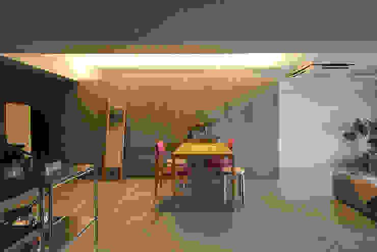 MORTAR POT nuリノベーション Minimalist dining room
