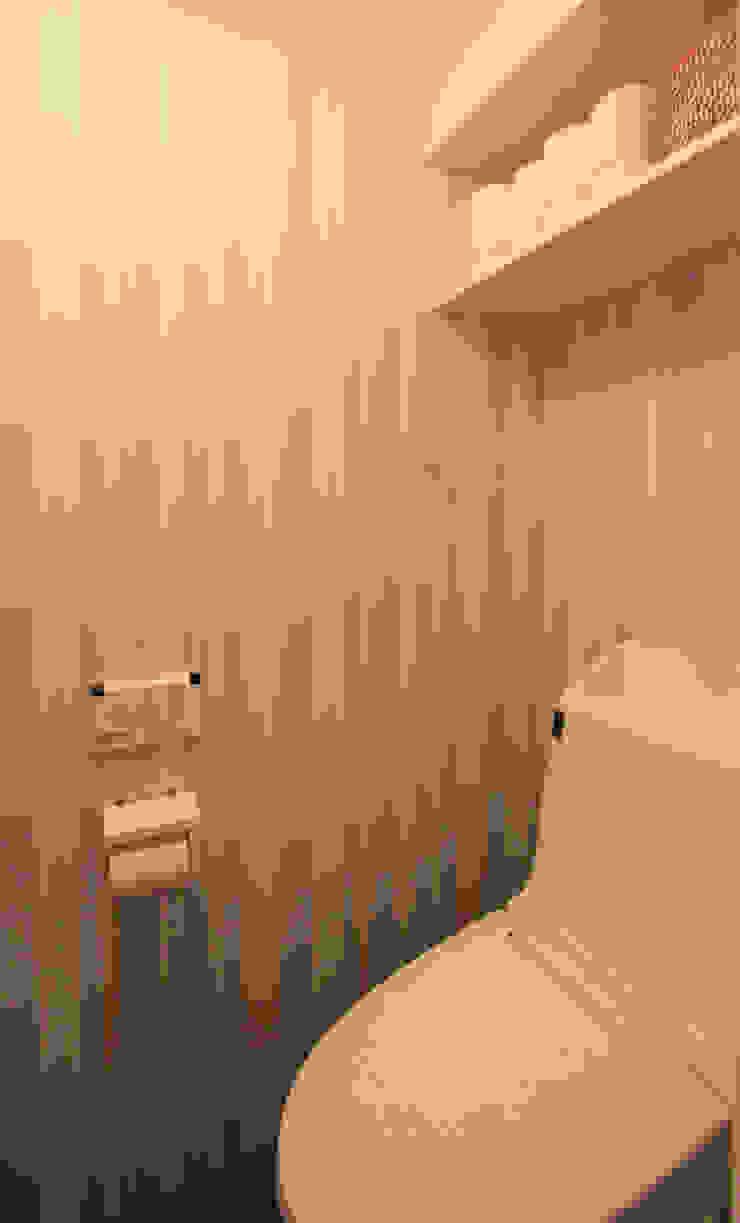 honyatosyodou Modern Bathroom by nuリノベーション Modern