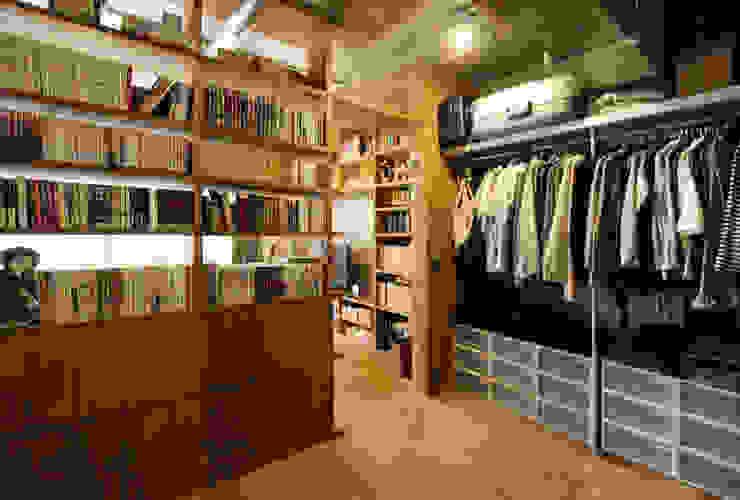 honyatosyodou nuリノベーション Modern dressing room