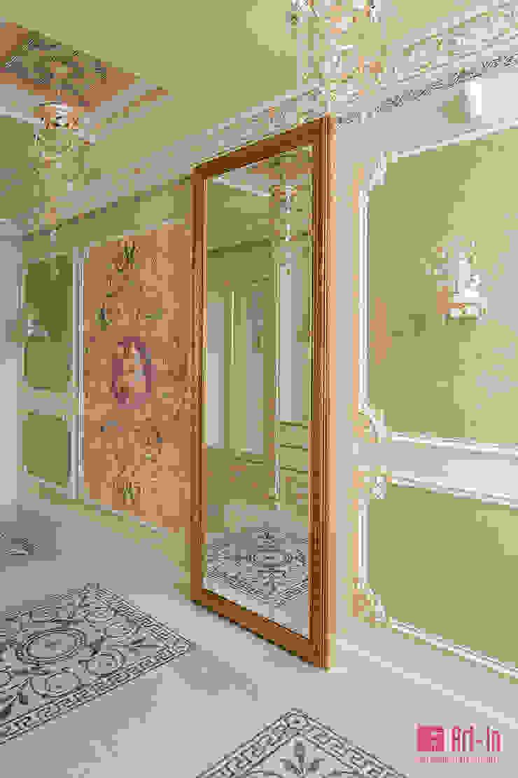 Couloir, entrée, escaliers classiques par Art-In Classique