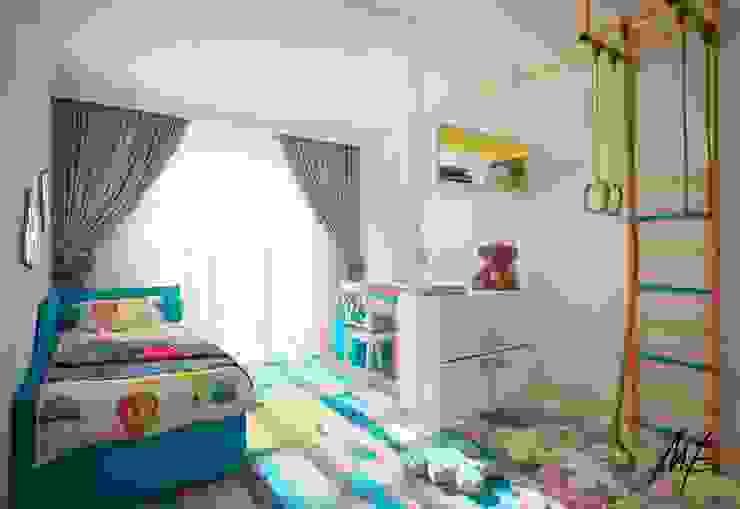 Сергиев Посад Детская комната в стиле модерн от Студия Марии Боровской Модерн