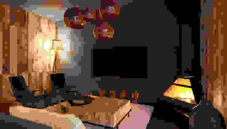 Minimalist living room by Мастерская Grynevich Dmitriy Minimalist Copper/Bronze/Brass