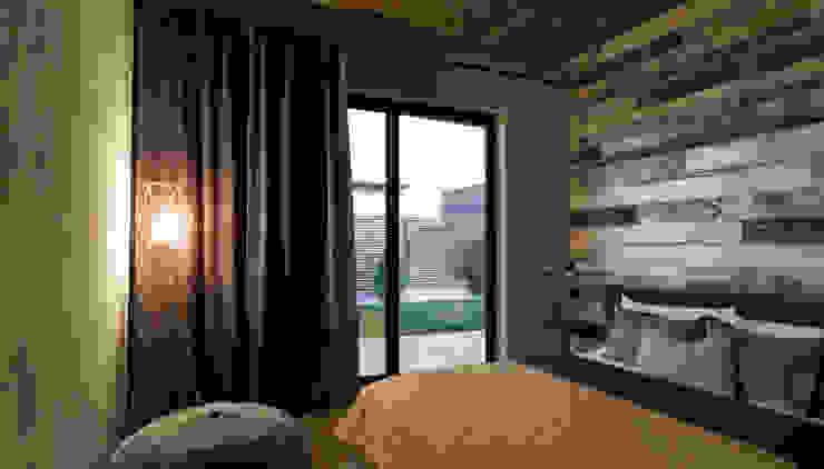 Minimalist bedroom by Мастерская Grynevich Dmitriy Minimalist Wood Wood effect