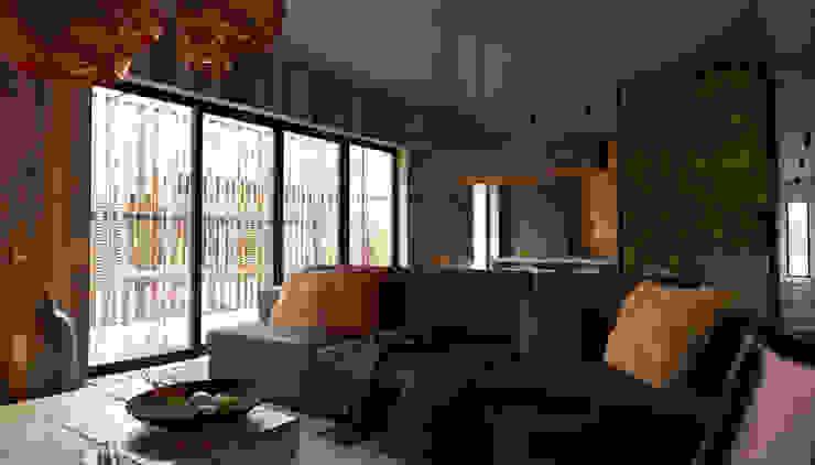 Minimalist living room by Мастерская Grynevich Dmitriy Minimalist Wood Wood effect