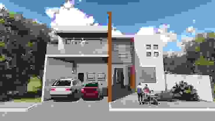 Residencia Santa Bárbara Casas modernas de TEKTÓNIKA arquitectura + diseño Moderno