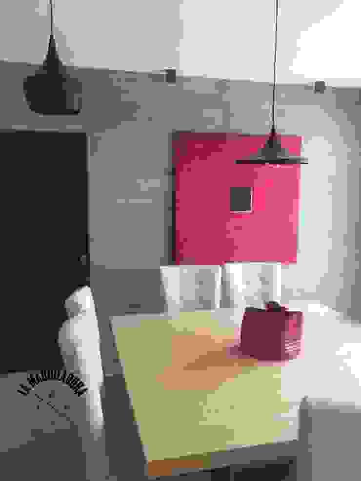 Modern dining room by La Maquiladora / taller de ideas Modern
