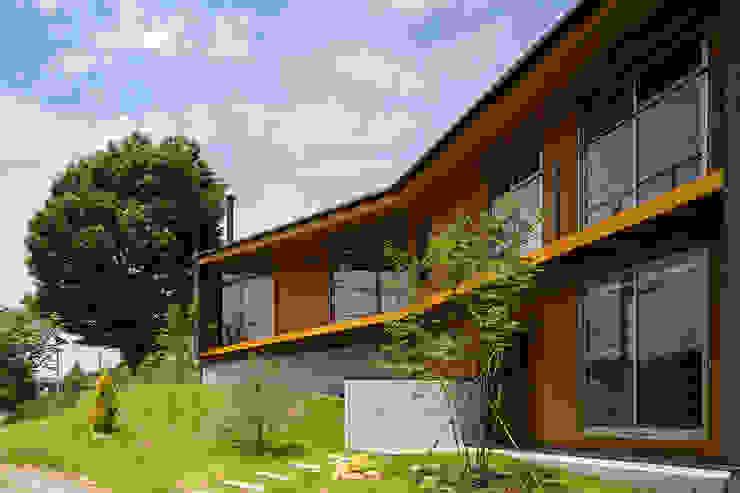 Casas de estilo  de 中山大輔建築設計事務所/Nakayama Architects, Ecléctico