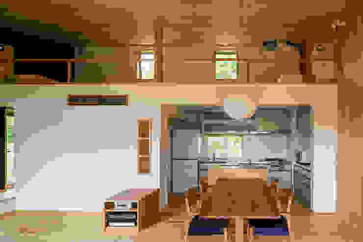 Cocinas de estilo  de 中山大輔建築設計事務所/Nakayama Architects, Ecléctico