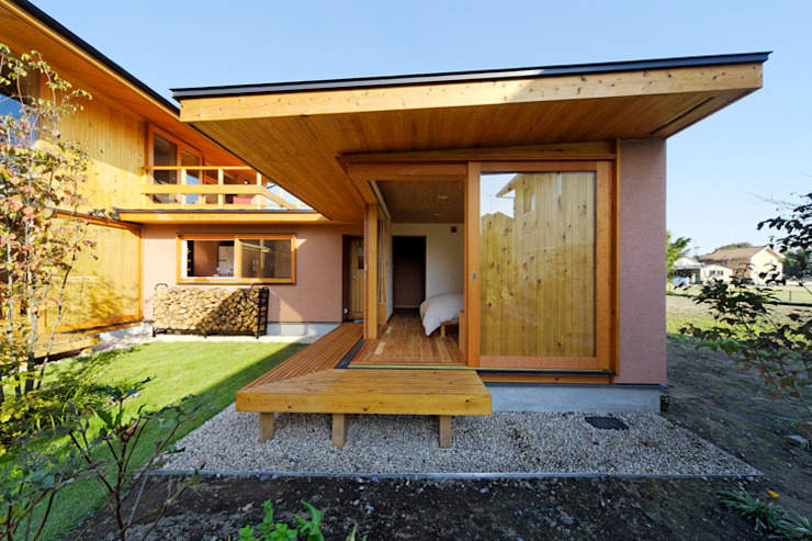 下古山・中庭のある家 中山大輔建築設計事務所/Nakayama Architects オリジナルな 家