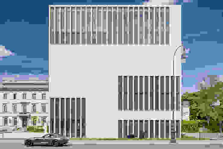 SICHTKREIS.COM Architekturfotografie Berlin Museos de estilo minimalista Hormigón Blanco
