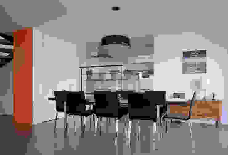 Maison cubique ultra contemporaine dans le Rhône par Pierre Bernard Création Moderne