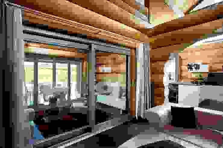러스틱스타일 창문 & 문 by Kneer GmbH, Fenster und Türen 러스틱 (Rustic)