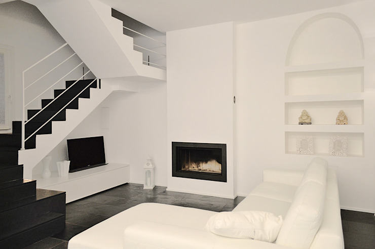 Livings modernos: Ideas, imágenes y decoración de Studio di Architettura Ortu Pillola e Associati Moderno