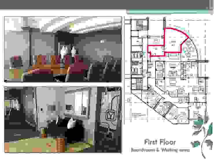 Makoya - First Floor - Boardroom by Carne Interiors Modern