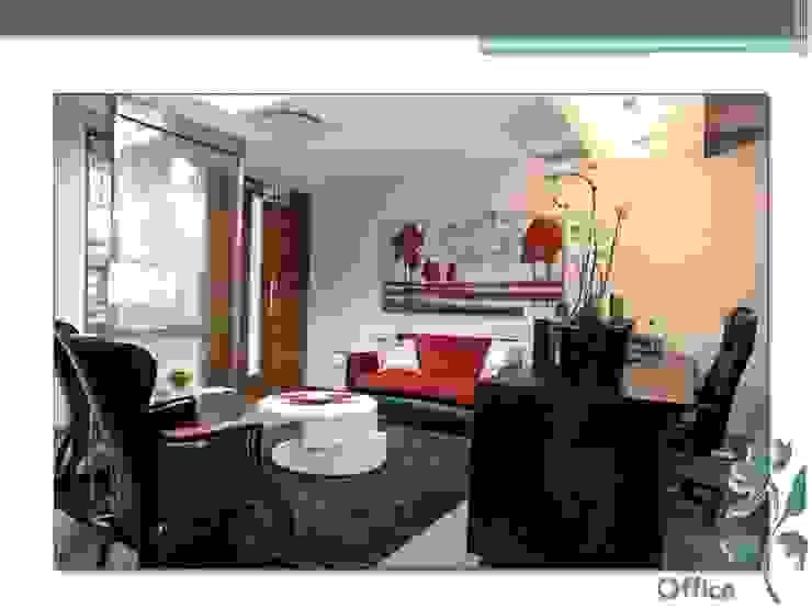Luminet Office by Carne Interiors Modern